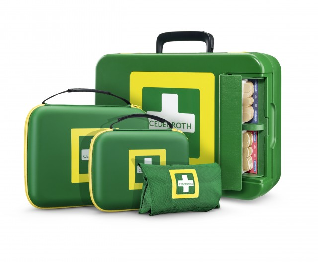 Cederroth First Aid Kit. Designbureau: Veryday