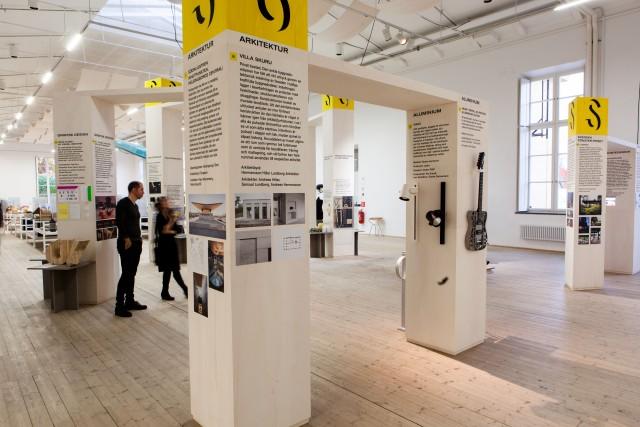 The exhibition Design S. Photo: Matti Östling / ArkDes