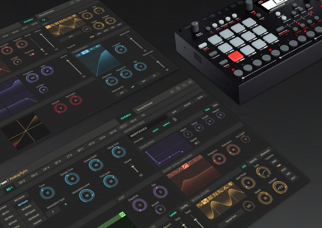 Elektron Overbridge. Development and designer: The Techno Creatives