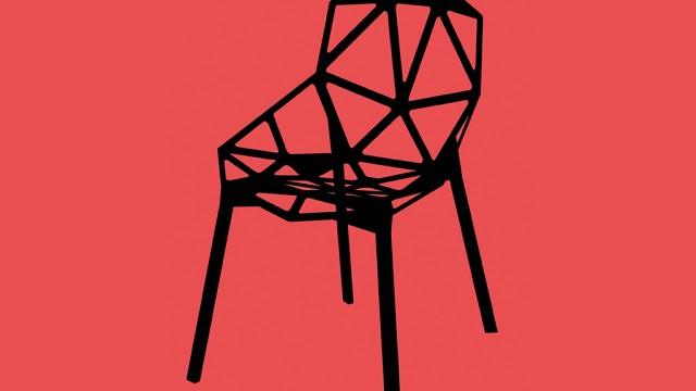Affisch på stolen Chair One av Konstantin Grici