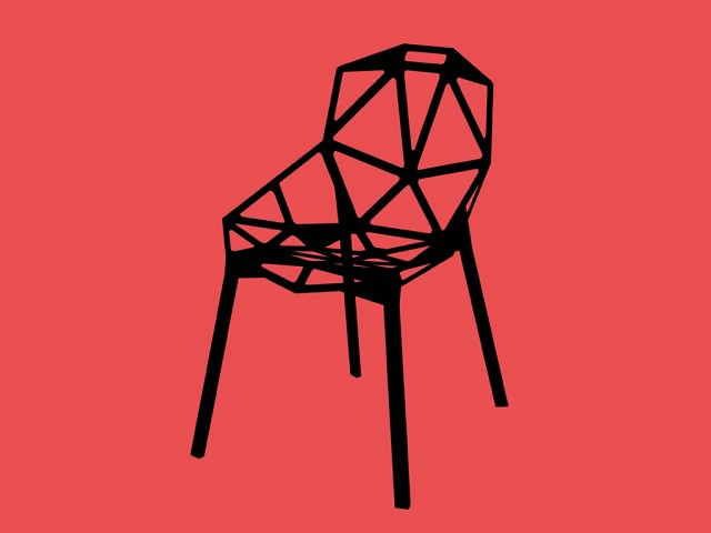 Chair One (2004) av Konstantin Grcic.