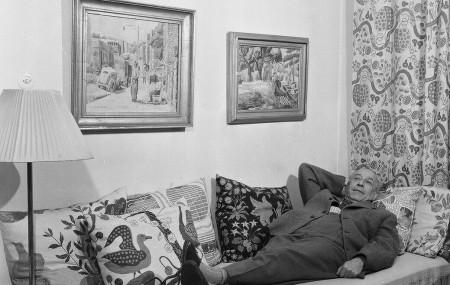 Josef Frank. Photo: Lennart Nilsson, Svenskt Tenn Archive and collections