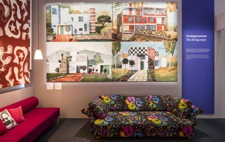 The Fantasy houses. Photo: Matti Östling / ArkDes