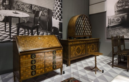 Furniture from Josef Frank's assignment for the Tedesko flat in Vienna. 1910s. Photo: Matti Östling / ArkDes