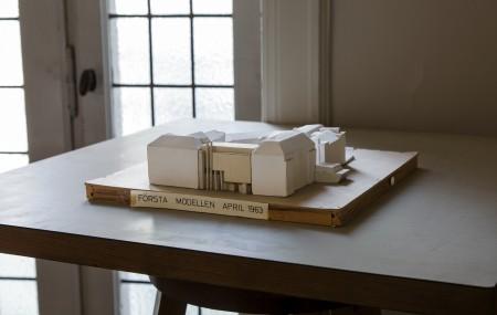 Léonie Geisendorfs arkitektkontor på Engelbrektsgatan i Stockholm. Här finns det mesta bevarat. Foto: Matti Östling / ArkDes