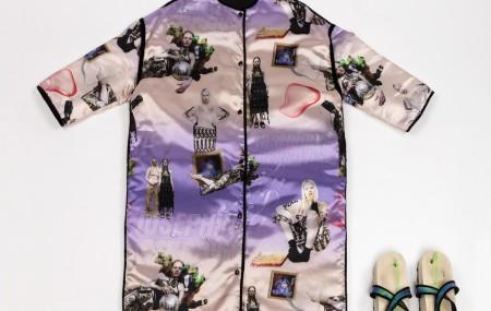 """Multiple Style Tribe är en liten kollektion som undersöker sambandet mellan globalisering, kultur och identitet samt hur mode slukar upp allt – snor symboler och idéer för att skapa något """"nytt"""". Josephine Bergqvist. Visas på Ung Svensk Form. Foto: Andreas Larsson"""