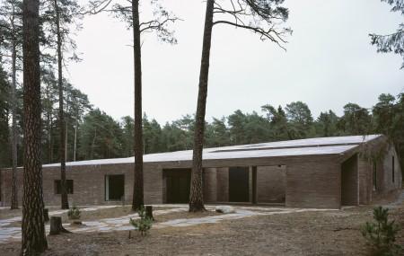 The New Crematorium Woodland Cemetary av Johan Celsing Arkitekter. Foto: Ioana Marinescu
