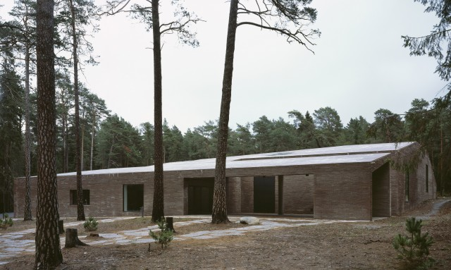 The New Crematorium Woodland Cemetary av Johan Celsing Arkitekter. Photo: Ioana Marinescu