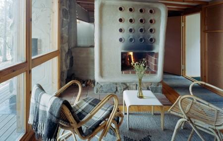 Open house in Ralph Erskine's Lådan
