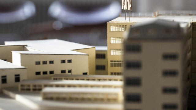 Detail, a model in the exhibitione Architecture in Sweden
