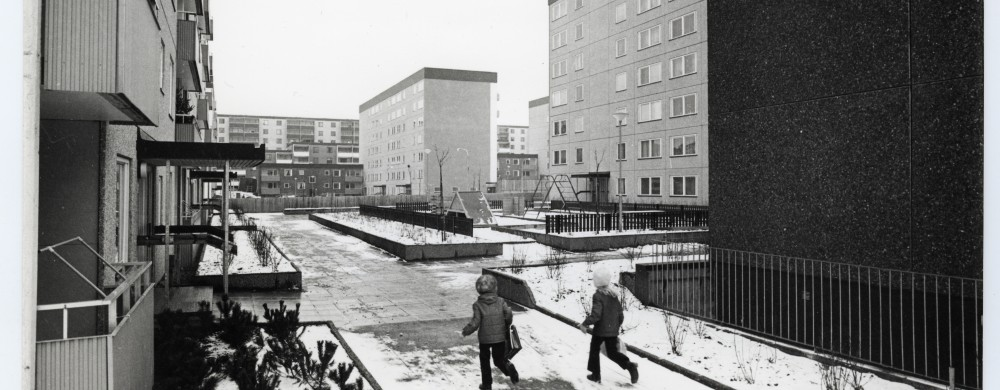 Tensta, 1970. Foto: Gunnar Wåhlén / ArkDes samlingar