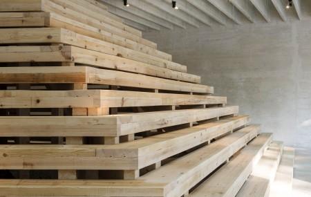 Utställningen In Therapy - Nordic countries face to face i den nordiska paviljongen under Venedigbiennalen 2016. Matti Östling / ArkDes