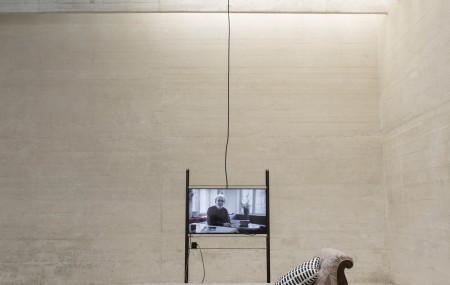 Utställningen In Therapy - Nordic countries face to face i den nordiska paviljongen under Venedigbiennalen 2016. Foto: Matti Östling / ArkDes