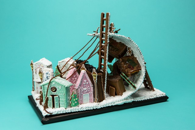 Winner of the category Architects, designers and bakers. Baker: Bagare: Cecilia Andersson Anna Heimburger Sara Hagman.