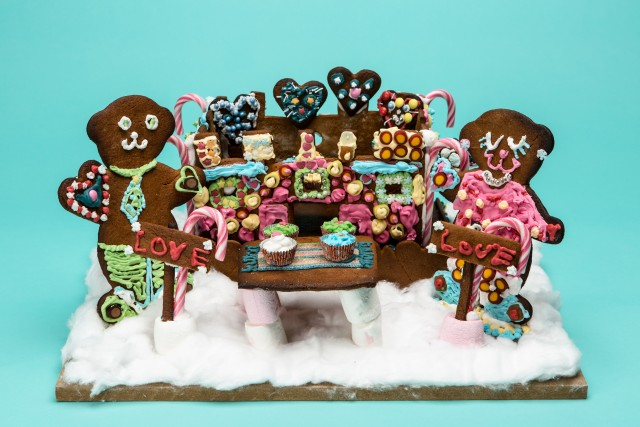 Second place in the category Up to 12 years old. Bakers: Annalisa Eklöf. Malla Bard.