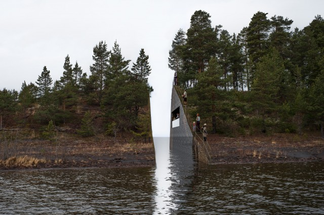 22 July Utøya memorial. Photo: Jonas Dahlberg.