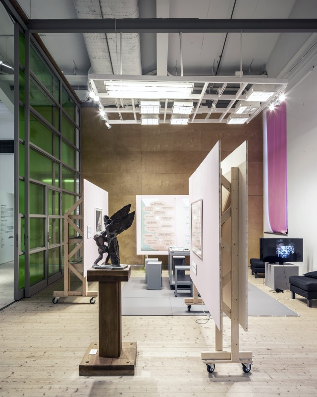 Tensta Museum Branch, as part of Public Luxury. Photo: Johan Dehlin