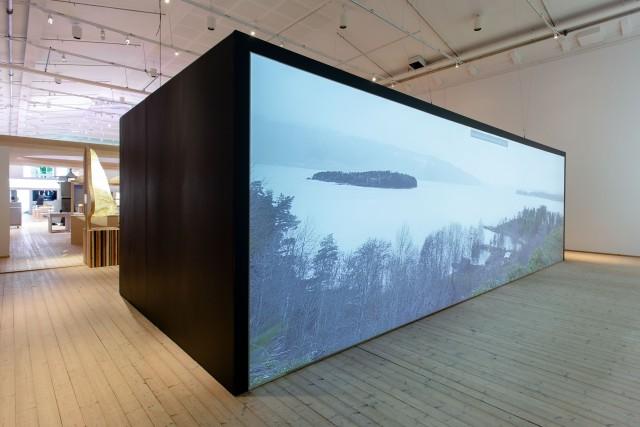 Memory Wound, minnesplats efter terrorattacken på Utøya. Foto: Jonas Dahlberg