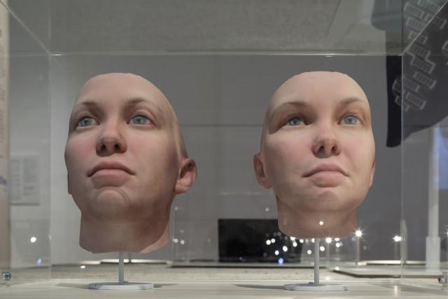Radical Love. Ett genetiskt porträtt av Chelsea Manning, skapat av Heather Dewey-Hagborg. Foto: Johan Dehlin