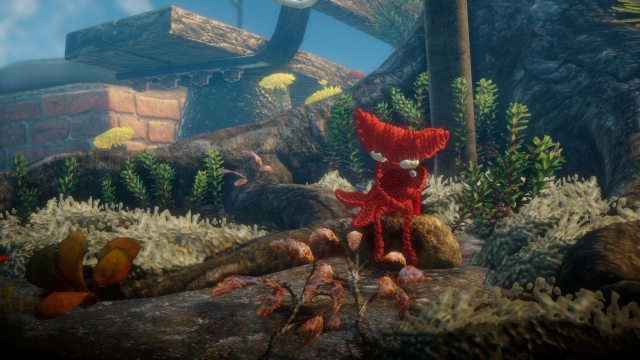 Scene from Unravel titled