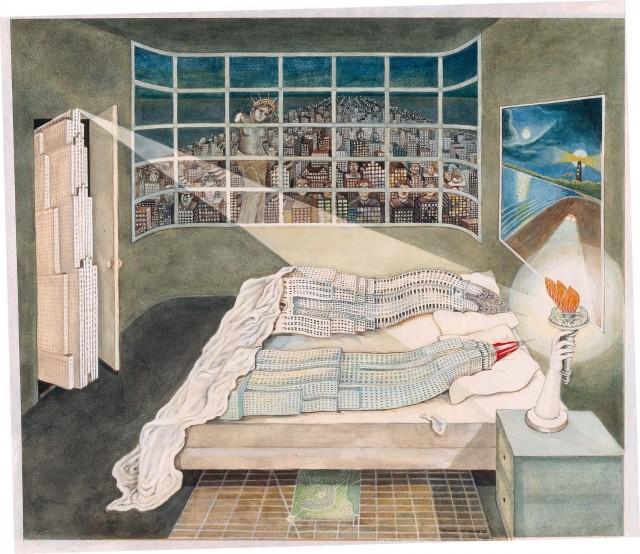 'Reproduction of Flagrant Délit' (1975) / Madelon Vriesendorp. Med tillstånd från konstnär.