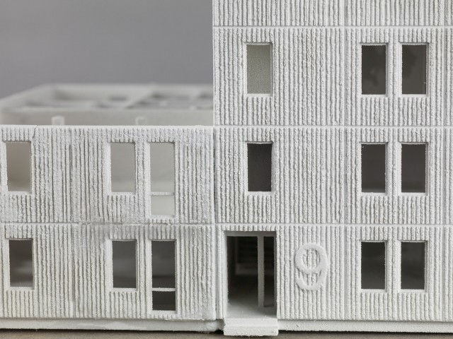 José Hernández and Helena Westerlind, Skarne system – Sweden 1950s, 2017 Model, powder based 3D print
