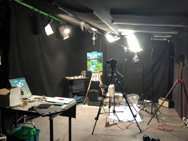 Photograph of Made in France ASMR's recording studio. Image courtesy of Maxence Rodier/Made in France ASMR.