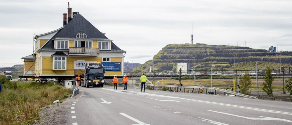Husflytt Kiruna. Foto: Jessica Nildén