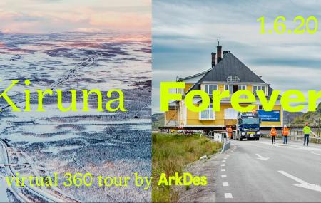 Virtuell vernissage: Kiruna Forever i 360°