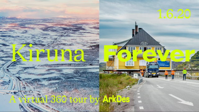 Virtuell vernissage: Kiruna Forever i 360°
