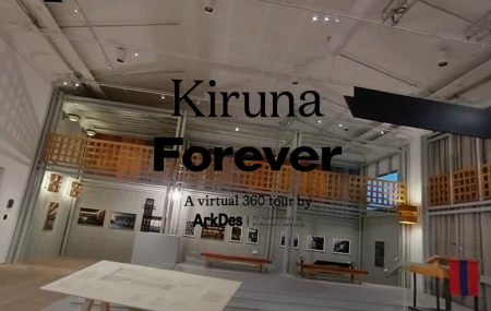 Virtual vernissage Kiruna Forever in 360°