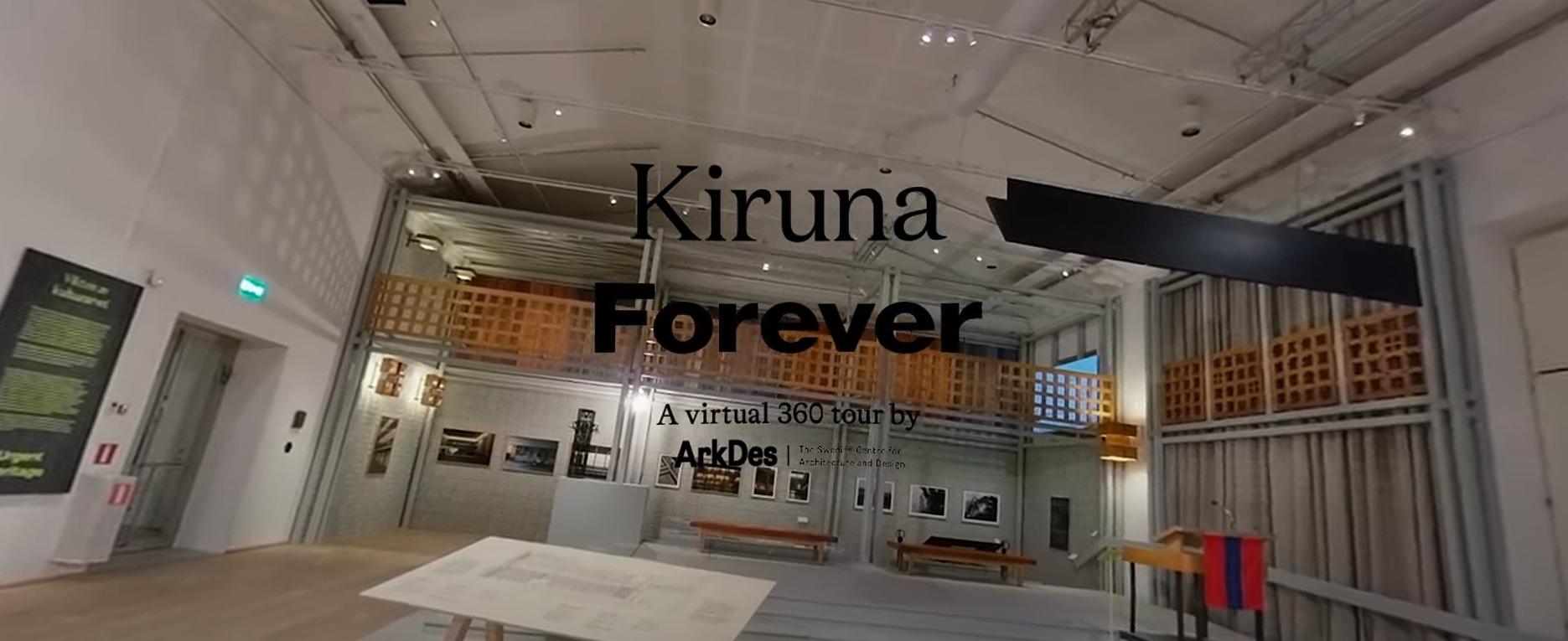 Virtuellt vernissage Kiruna Forever i 360°