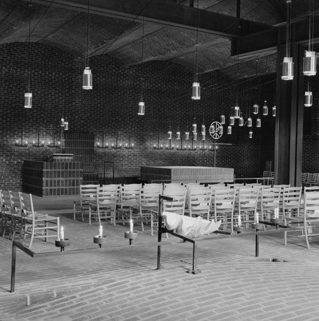 St Petris Church, ca,1966. Photo: Karl-Erik Olsson.