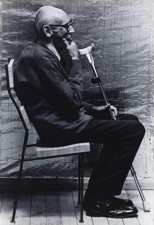 Portrait of Sigurd Lewerentz, 1974. Photo: Karl-Erik Olsson.