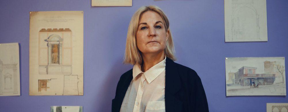 Porträtt: Frida Melin, intendent ArkDes. Foto: Justina Hüll.