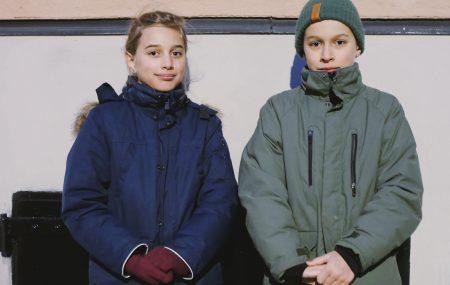 Upp till 12 år: Iris och Benjamin Karlgren